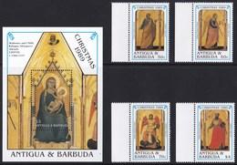 ANTIGUA & BARBUDA 1989 NATALE - Antigua Et Barbuda (1981-...)