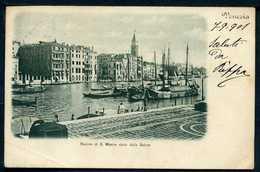 Venezia - Bacino Di S.Marco Visto Dalla Salute - Viaggiata 1901 - Rif.  02250 - Venezia