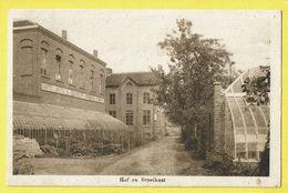 * Torhout - Thorhout * (E. & B.) Sint Jozefsgesticht, Normaal School, école, Hof En Broeikast, Serre, Jardin, Rare - Torhout