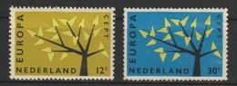 MiNr. 782 - 783   Niederlande  / 1962, 17. Sept. Europa. - 1949-1980 (Juliana)
