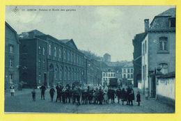 * Dison (Liège - Luik - La Wallonie) * (SBP, Nr 12) Sablon Et école Des Garcons, Enfants, Animée, Char, Unique, TOP - Dison