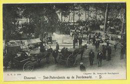 * Torhout - Thourout * (D.V.D. 8916 - Uitgever Th. Samyn De Borchgrave) Sint Pietersfeest Op De Peerdemarkt, Cheval TOP - Torhout