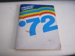 CALENDARIO PREZIOSO CAMPARI 1972 - Calendars
