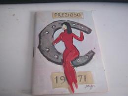 CALENDARIO PREZIOSO CAMPARI 1971 - Calendars