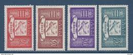 Monaco Poste Aérienne - PA YT N° 15 à 18 - Neuf Sans Charnière - 1946 - Poste Aérienne
