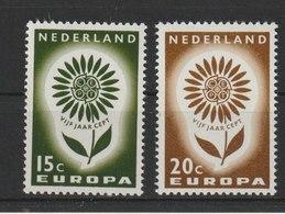 MiNr. 827 - 828  Niederlande / 1964, 14. Sept. Europa. - 1949-1980 (Juliana)