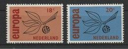 MiNr. 848 - 849  Niederlande / 1965, 27. Sept. Europa. - 1949-1980 (Juliana)