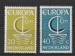 MiNr. 864 - 865  Niederlande / 1966, 26. Sept. Europa. - 1949-1980 (Juliana)