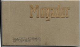 MAROC.  MOGADOR. BEAU CARNET DE 20 CARTES ANCIENNES - Cartes Postales
