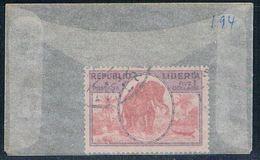 Liberia 194 Used Elephant 1921 CV 1.50 (L0477) - Liberia