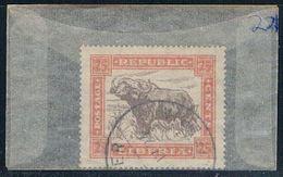 Liberia 221 Used West African Buffalo 1923 (L0494) - Liberia