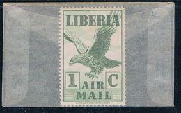 Liberia C4 Unused Eagle 1938 (L0583) - Liberia