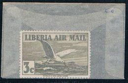 Liberia C6 Unused Egrets 1938 (L0585) - Liberia