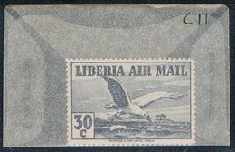 Liberia C11 Unused Seagull 1938 CV 2.25 (L0590) - Liberia