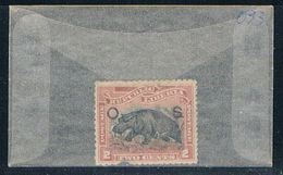 Liberia O33 Used Hippo 1898 CV 2.75 (L0636) - Liberia