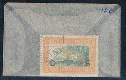 Liberia O120 Used Leopard 1921 (L0673) - Liberia