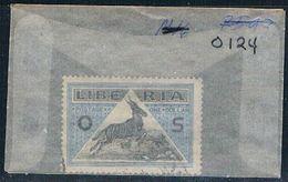Liberia O124 Used Bongo Antelope 1921 (L0677) - Liberia