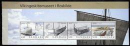 Denmark 2004 Viking Ships Museum     MiNr.1377-80   H-Blatt 85  MNH (**)  (lot  4083 ) - Danimarca