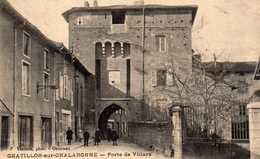 Porte De Villars. - Châtillon-sur-Chalaronne