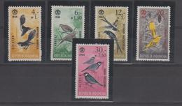 Indonésie 1965 Oiseaux Série 398-402 5 Val ** MNH - Indonésie