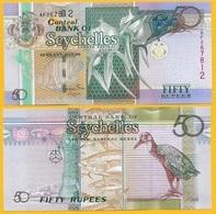 Seychelles 50 Rupees P-43 2011 UNC - Seychelles