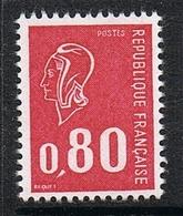 FRANCE N°1815a N**  Variété Timbre Sans Bande De Phosphore Et Gomme Brillante - France