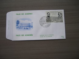 "BELG.1971 1576 FDC Bruxelles/Brussel ""Koninklijke Academie Voor Franse Taal En Letterkunde - Académie Royale De Langue E - FDC"