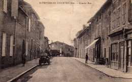 St Trivier De Courtes: Grande Rue. - Autres Communes
