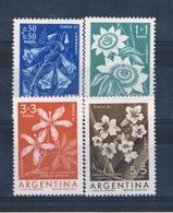 Argentina B26-29 MNH Set Flowers CV 2.00 (A0199) - Argentine