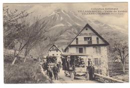 Cpa Du 04- VILLARS -COLMARS - HÔTEL VILLARS ( Autobus) - Francia