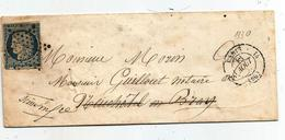 - SEINE - PARIS - Etoile Muette  S/TPND Type Cérès N°4 - Càd Type 15 Sans Date - 1849-1850 Cérès