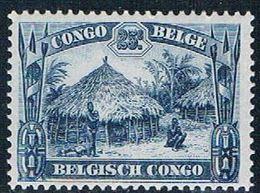 Belgian Congo 142 MLH Uele Hut 1931 (B0407)+ - Congo Belge