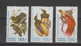 Indonésie 1982 Oiseaux Série 972-974 3 Val ** MNH - Indonésie