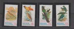 Indonésie 1984 Oiseaux Série 1042-45 4 Val ** MNH - Indonésie