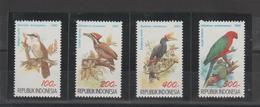 Indonésie 1992 Oiseaux Série 1295-98 4 Val ** MNH - Indonésie
