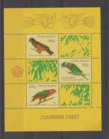 Indonésie 1980 Oiseaux BF 36 ** MNH - Indonésie