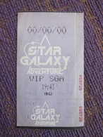 Star Galaxy Adventure,with A Little Bend - Tickets D'entrée