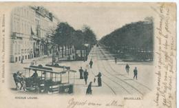 Brussel - Bruxelles - Avenue Louise - Editeurs G. Blümlein & Co Francfort S. M. - 1900 - Avenues, Boulevards