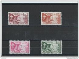 LAOS 1959 - YT N° 55/58 NEUF SANS CHARNIERE ** (MNH) GOMME D'ORIGINE LUXE - Laos