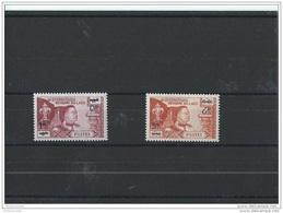 LAOS 1965 - YT N° 117/118 NEUF SANS CHARNIERE ** (MNH) GOMME D'ORIGINE LUXE - Laos
