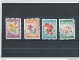 LAOS 1967 - YT N° 160/163 NEUF SANS CHARNIERE ** (MNH) GOMME D'ORIGINE LUXE - Laos