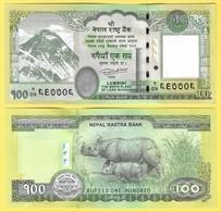 Nepal 100 Rupees P-80 2015 UNC - Népal