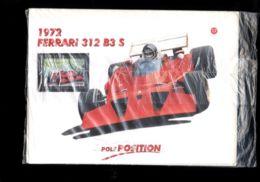 DAN42 AUTOMOBILISMO FORMULA 1 FERRARI - COLLEZIONE POLE POSITION MILANO FINANZA FERRARI 312 B3 S CON FRANCOBOLLO LIBERIA - Automobile - F1