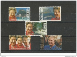 GIBRALTAR 1992 - YT N° 642/646 NEUF SANS CHARNIERE ** (MNH) GOMME D'ORIGINE LUXE - Gibraltar