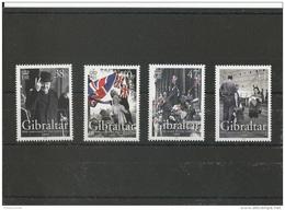 GIBRALTAR 2005 - YT N° 1128/1131 NEUF SANS CHARNIERE ** (MNH) GOMME D'ORIGINE LUXE - Gibraltar