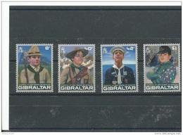 GIBRALTAR 2007 - YT N° 1212/1215 NEUF SANS CHARNIERE ** (MNH) GOMME D'ORIGINE LUXE - Gibraltar
