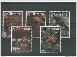 GIBRALTAR 2007 - YT N° 1220/1224 NEUF SANS CHARNIERE ** (MNH) GOMME D'ORIGINE LUXE - Gibraltar