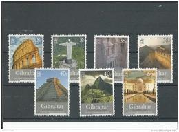 GIBRALTAR 2008 - YT N° 1274/1280 NEUF SANS CHARNIERE ** (MNH) GOMME D'ORIGINE LUXE - Gibraltar