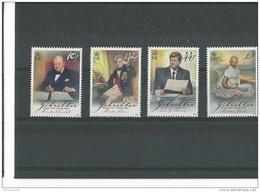 GIBRALTAR 2008 - YT N° 1281/1284 NEUF SANS CHARNIERE ** (MNH) GOMME D'ORIGINE LUXE - Gibraltar