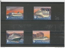 GIBRALTAR 2008 - YT N° 1289/1292 NEUF SANS CHARNIERE ** (MNH) GOMME D'ORIGINE LUXE - Gibraltar